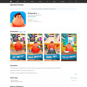 Fit the Fat 2 (iPhone 9.0+) US - Non incent-Tapgerine