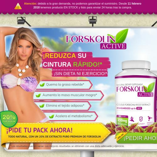 Forskolin Active [COD] - Weight Control - CPA [ES]