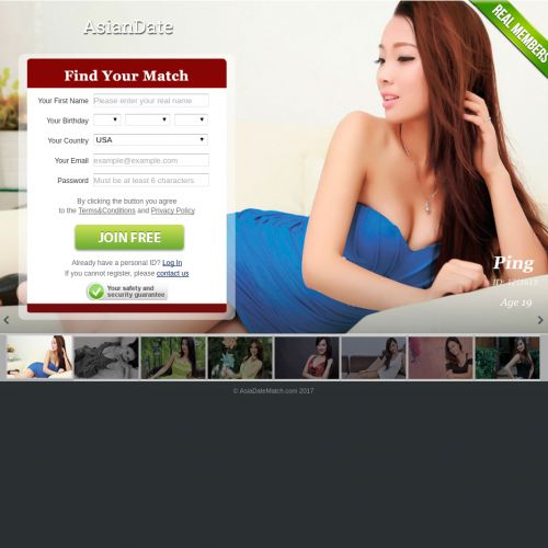 Asian dating site affiliate