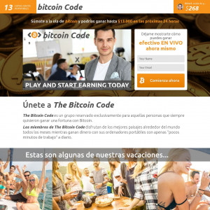 Thebitcoincode - Deposit of the first deposit