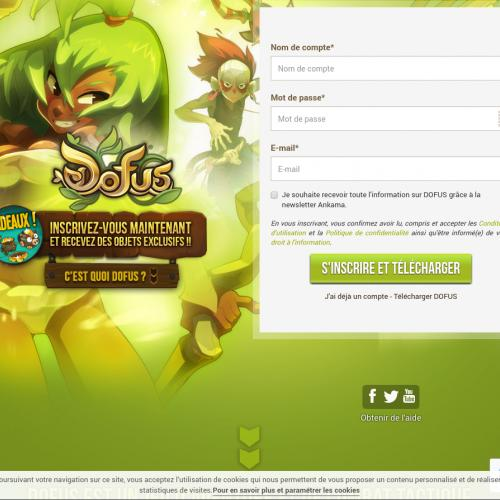 Dofus - FR, AD, GP, MC, LU, NC, RE, MF, PM, WF, GF, MQ, NL, CH, BE - DOI