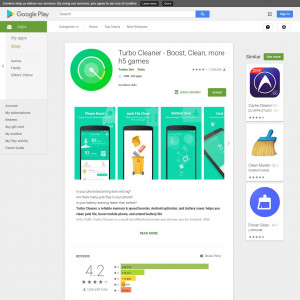 Turbo Cleaner (GAID recommended) (Android 4.1+) KR SK ZA AR CR KW PA AE - Non incent
