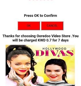Hollywood Divas (Ooredoo) (2 click flow) (iPhone, iPad, Android, Windows phone, BlackBerry) KW - Non incent