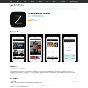 ZALORA - Fashion Shopping - iOS - ID (non-incent)