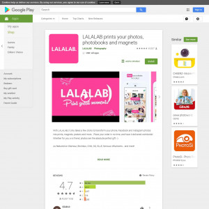 LALALAB (Android 4.1+) BE FR - [Android] [BE,FR]