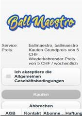 Ball Masters - CPA - Carriers: Sunrise only [iPhone,iPad,Android] [CH] [Android,iPad,iPhone]