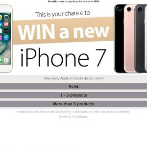 Win a new Iphone 7 - CPA - [UK] - *WEB/WAP*