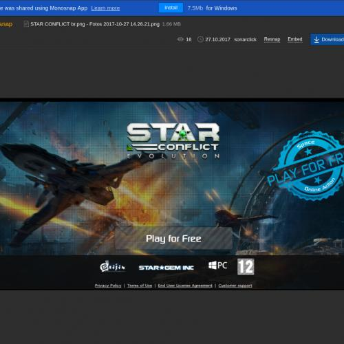 BR - Star Conflict - CPP