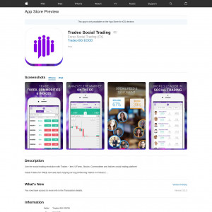 DE/UK - Tradeo Social Trading - iOS