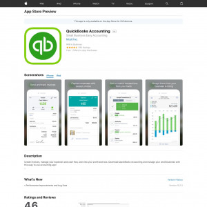US - QuickBooks Accounting - iOS