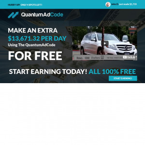 Quantum Ad Code - Learn How To Earn Thousands Per Day - CPL & CPA | US