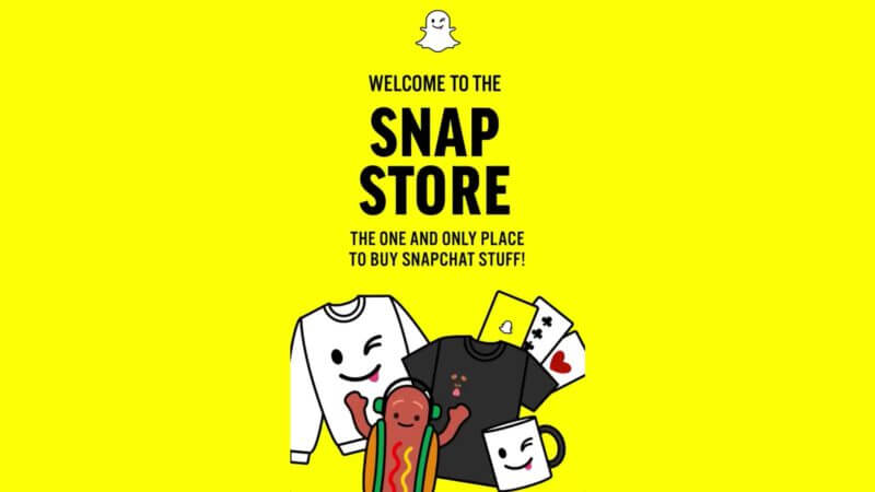 Snapchat opens in-app shopping section with Snap Store