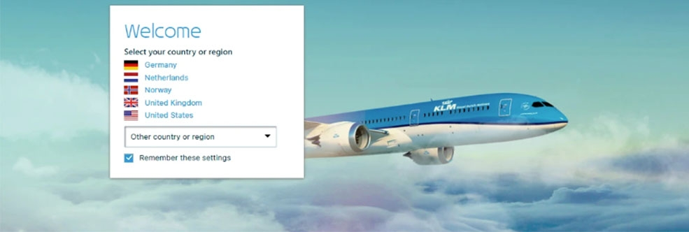 KLM Airways Started Affiliate Campaign