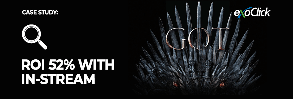Affiliate Case Study: ROI 52% with official Game of Thrones game