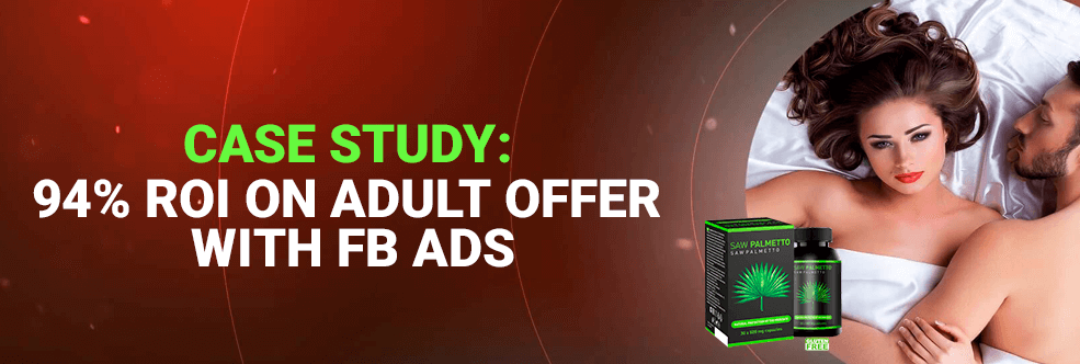 Case study: FB+adult with 94% ROI