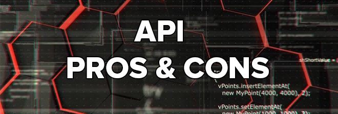 Pros and cons of using API in affiliate marketing