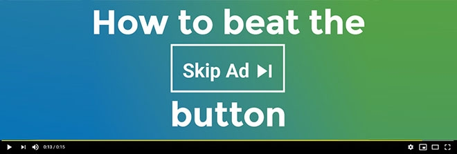 How to beat the pre-roll skip ad button