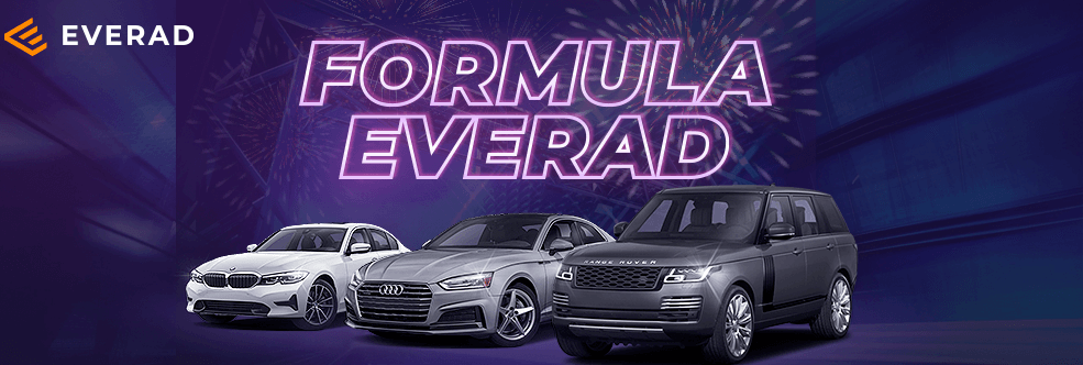 Everad New Contest: win BMW 3 Series, Audi A5 or Range Rover! Or even get them all!