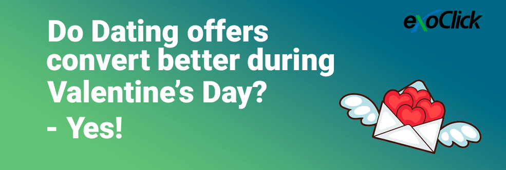 Do Dating offers convert better during Valentine's Day? Yes!