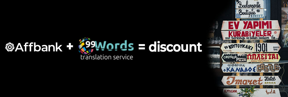 Get your discount from 99wwords translation service!