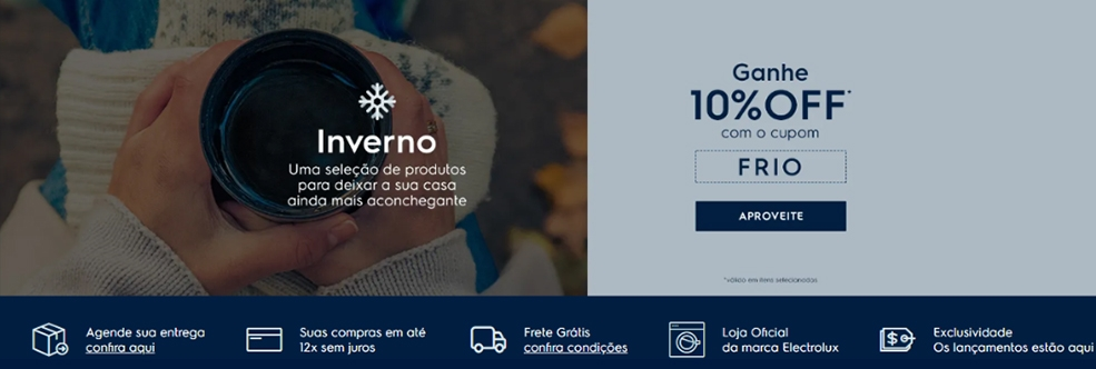 Electrolux BR Started New Affiliate Campaign