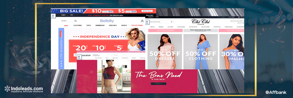 New Affiliate Campaigns from Indoleads: Fashion Category