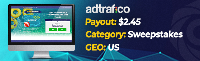 The most converting offers on Affbank from Adtrafico