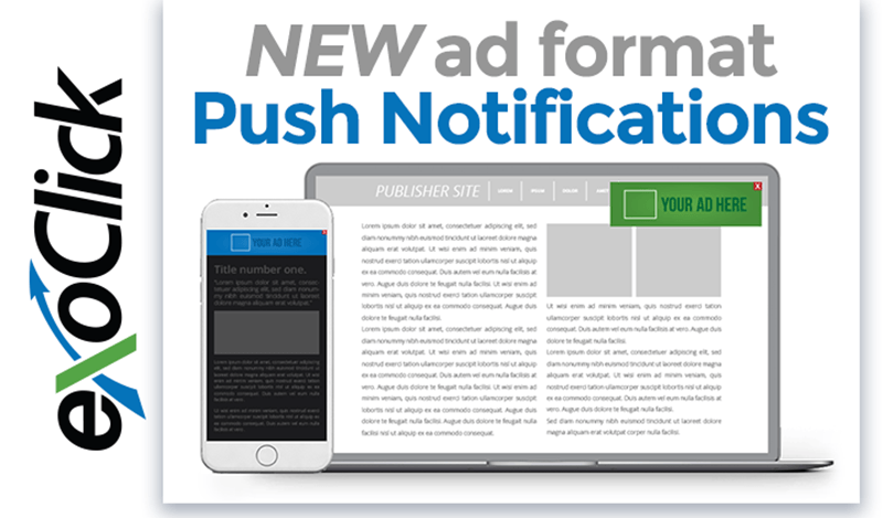 exoclick push notification promotion november