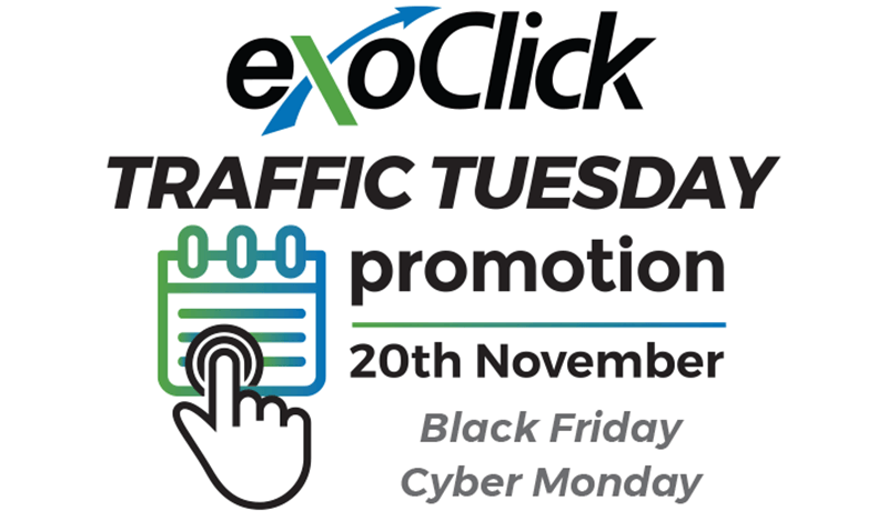 exoclick traffic tuesday get bonus