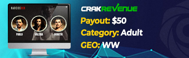 The most converting offers on Affbank from CrakRevenue