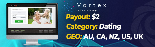 The most converting offers on Affbank from Vortex Advertising