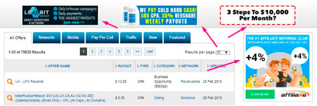 Traffic types in Internet advertising. How to choose the right one on Affbank.com