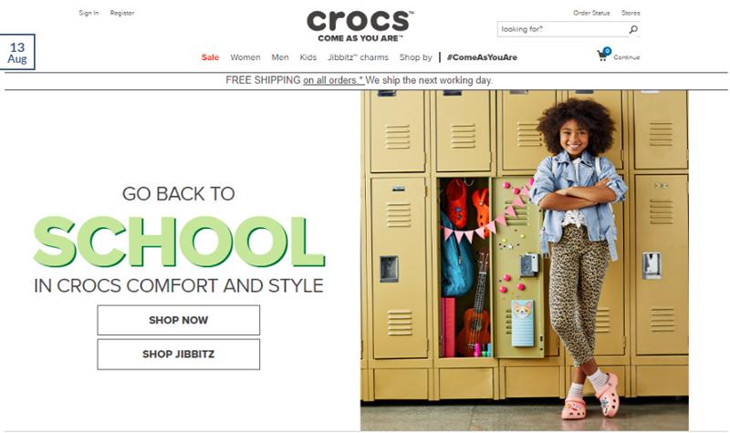 Affiliate Campaigns Crocs