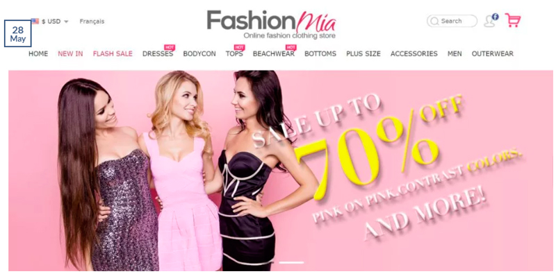 Affiliate Campaigns FashionMia